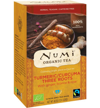 Numi Turmeric Three Roots
